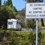 free camping paramatta creek tasmania