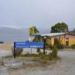 teds beach camping lake pedder strathgordon tasmania