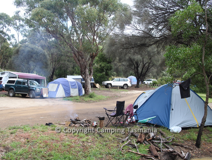 Camping Mayfield Beach - Free Camping Tasmania Map Guide Free