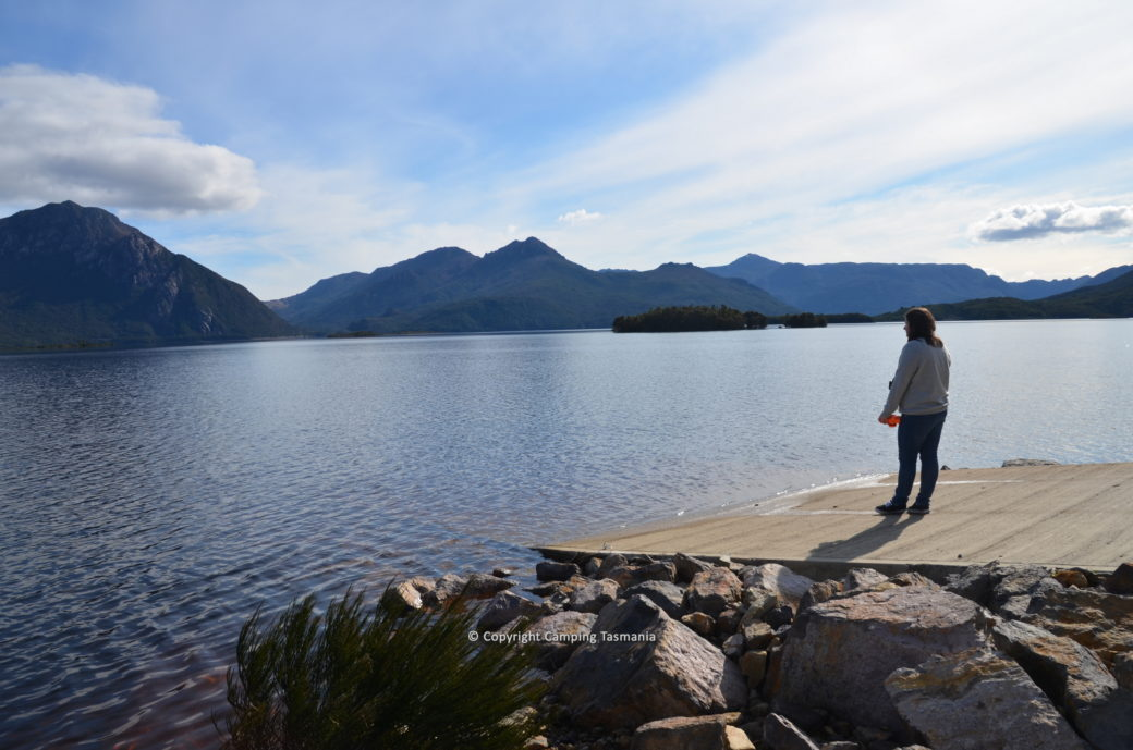 camping lake burbury tasmania