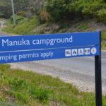 manuka campground arthur river tasmania