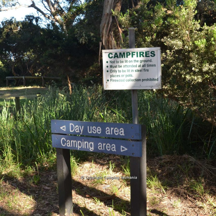 campsites peggs beach