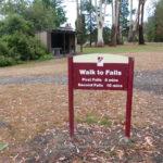 free camping lilydale falls tasmania