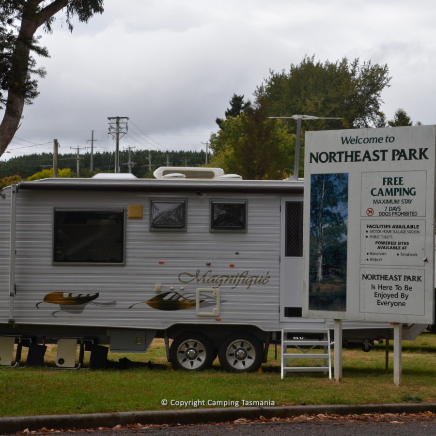 North East Caravan Park Free Camping Scottsdale