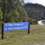 edgar campground free camping lake pedder tasmania