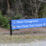 free camping huon campground lake pedder tasmania