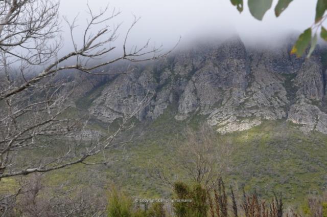 camping lake pedder strathgordon tasmania