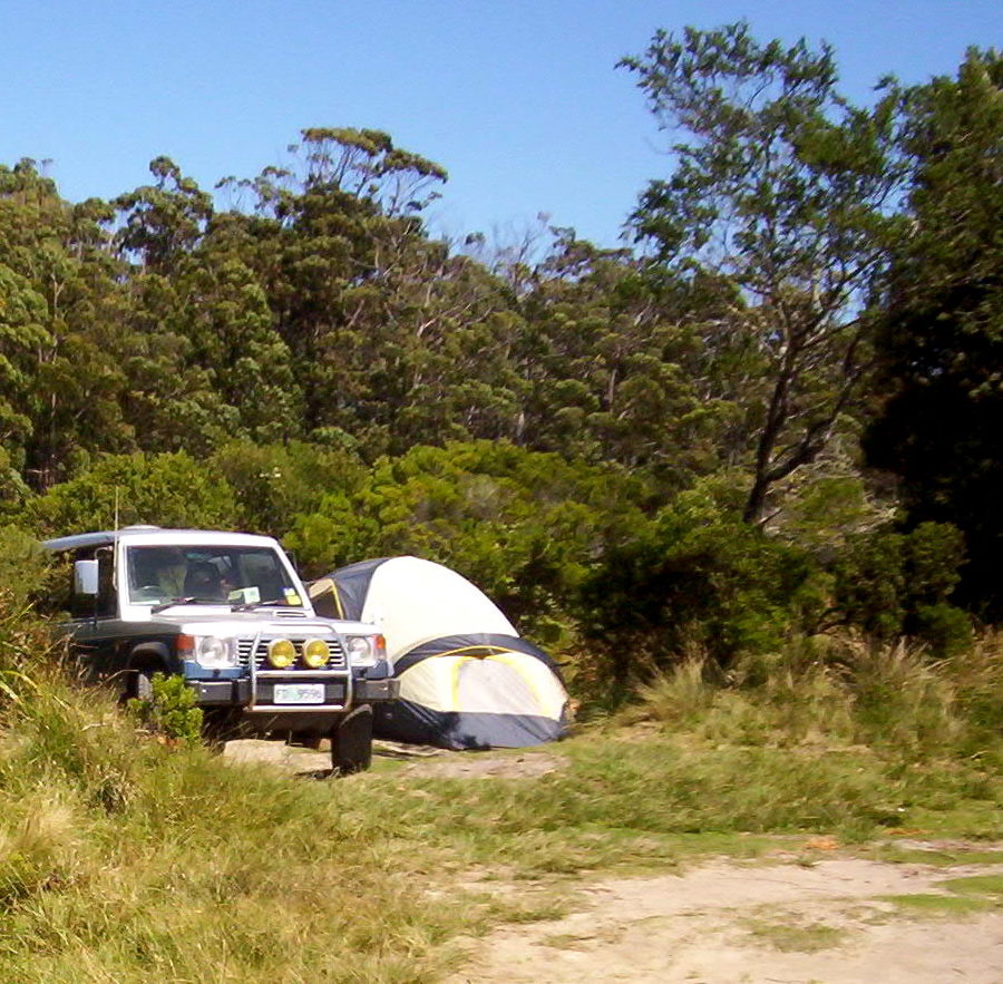 free camping cockle creek