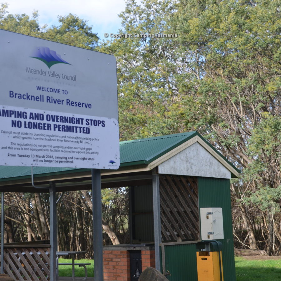 free camping bracknell reserve